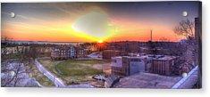 Sunrise On Campus Acrylic Print