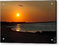 Acrylic Print featuring the photograph Sunrise On Cape Cod by John Hoey