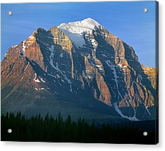 1m3518-sunrise On Mt. Temple Acrylic Print