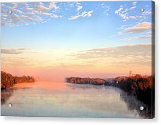 Sunrise On The Alabama River Acrylic Print by JC Findley