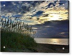 Sunrise On The Dunes Acrylic Print