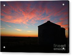 Sunrise On The Farm Acrylic Print