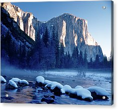 Sunrise On El Capitan Yosemite National Park Acrylic Print
