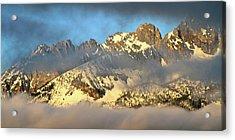 Sunrise On Thompson Peak Acrylic Print