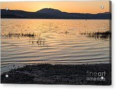 Sunrise On Tomales Bay - 262 Acrylic Print by Stephen Parker
