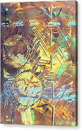 Sunrise One Acrylic Print by Albert Puskaric
