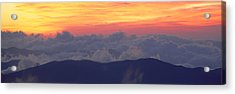 Sunrise Over Clingmans Dome, Great Acrylic Print by Panoramic Images