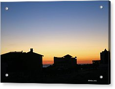 Acrylic Print featuring the photograph Sunrise Over Cortez by Dick Botkin
