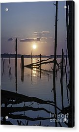 Sunrise Over Manasquan Reservoir Acrylic Print