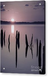 Sunrise Over Manasquan Reservoir Iv Acrylic Print