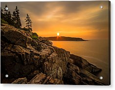 Sunrise Over Otter Cove Acrylic Print