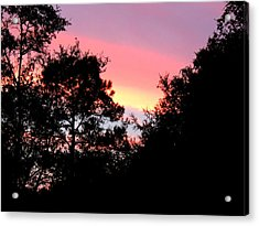 Sunrise Over Perry Acrylic Print