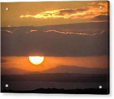 Sunrise Over River Shannon Acrylic Print