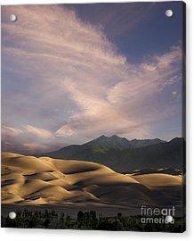 Sunrise Over The Great Sand Dunes Acrylic Print