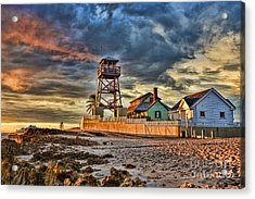 Sunrise Over The House Of Refuge On Hutchinson Island Acrylic Print