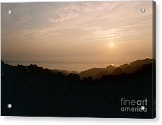 Sunrise Over The Illinois River Valley Acrylic Print