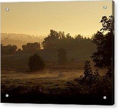 Sunrise Over The Mist Acrylic Print