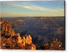 Sunrise Over Yaki Point At The Grand Canyon Acrylic Print