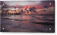 Sunrise Panoramic Acrylic Print