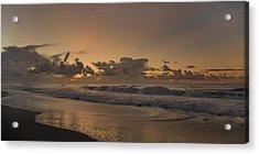Sunrise Paradise Acrylic Print by Betsy Knapp