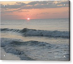 Sunrise Acrylic Print by Polly Anna