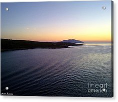 Acrylic Print featuring the photograph Sunrise by Ramona Matei