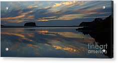 Sunrise Reflections Acrylic Print by Trena Mara