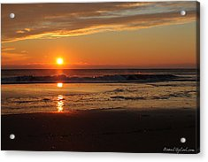 Acrylic Print featuring the photograph Sunrise Serenity by Robert Banach