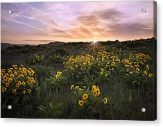 Sunrise Service Acrylic Print