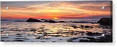 Sunrise Silhouettes Odiorne Point Acrylic Print