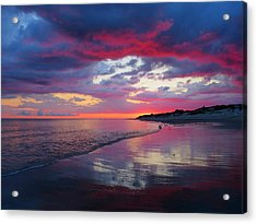 Acrylic Print featuring the photograph Sunrise Sizzle by Dianne Cowen