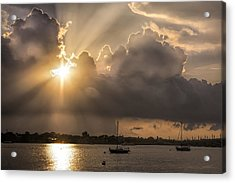 Sunrise St Augustine Bayfront Acrylic Print