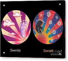 Sunrise/sunset Acrylic Print