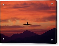 Sunrise Takeoff Acrylic Print