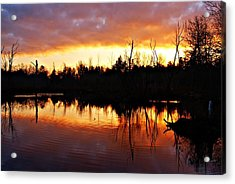 Sunrise Thanksgiving Morning Acrylic Print