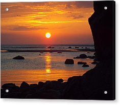 Sunrise Therapy Acrylic Print by Dianne Cowen