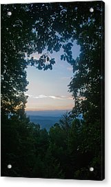 Sunrise Through The Trees Acrylic Print