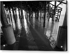 Sunrise Under Pier Acrylic Print
