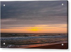 Sunrise Under The Clouds Acrylic Print