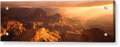Sunrise View From Hopi Point Grand Acrylic Print by Panoramic Images