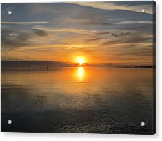Acrylic Print featuring the photograph Sunrise With God by Joetta Beauford
