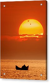 Sunrise With Venus On It Acrylic Print