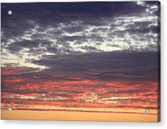 Sun's Last Reflection Acrylic Print