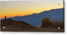 Acrylic Print featuring the photograph Sunset - Death Valley by Dana Sohr