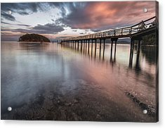 Sunset - Mayne Island Acrylic Print