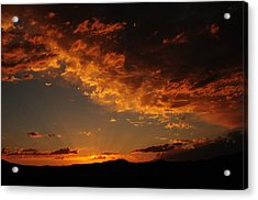 Acrylic Print featuring the photograph Sunset 0983 by Janis Knight