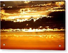 Sunset 2 Acrylic Print by Ashley Balkan