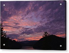 Sunset 2013 Acrylic Print by Tom Culver