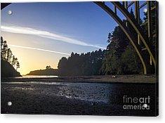 Sunset  2.2812 Acrylic Print by Stephen Parker