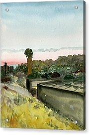 Sunset 25 Lemon Grove Acrylic Print